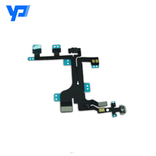 High quality for iPhone 5c power on off flex cable, for iPhone 5c power flex cable