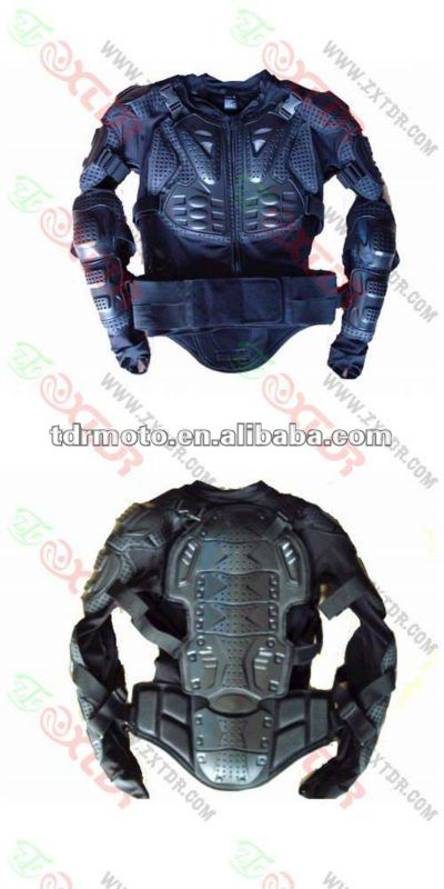 body armor for motorcycles and other bikes