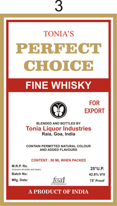 Perfect Choice Fine Whisky