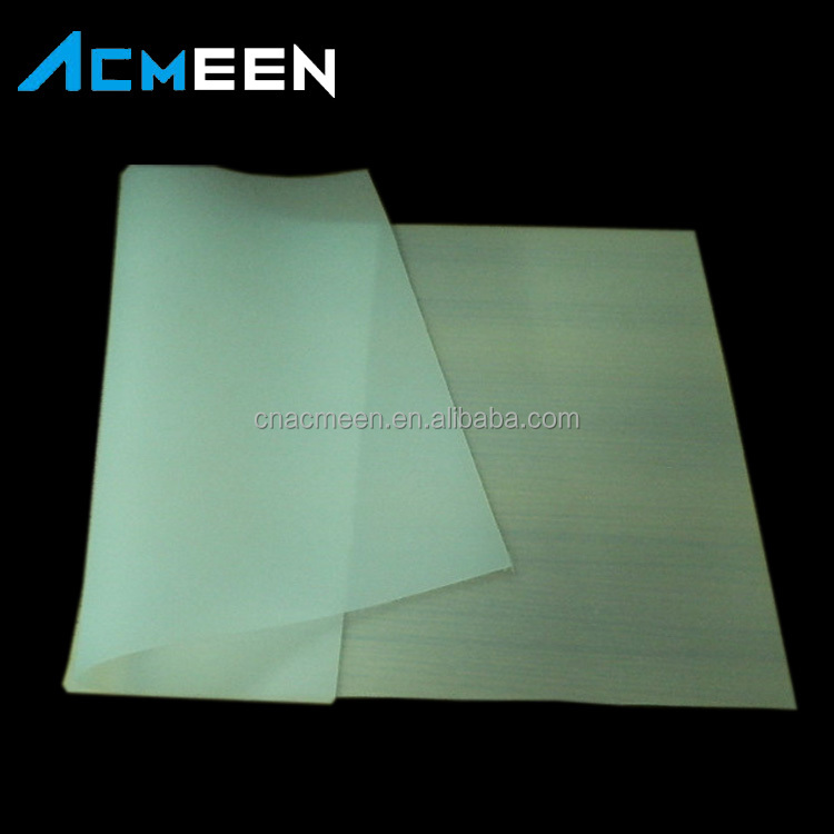 Customized Anti-slip silicone sheet transparent Silicone rubber sheet