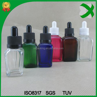 15ml 30ml square glass bottle for e liquid frosted glass dropper bottle with pipettes glass dropper bottle 10ml