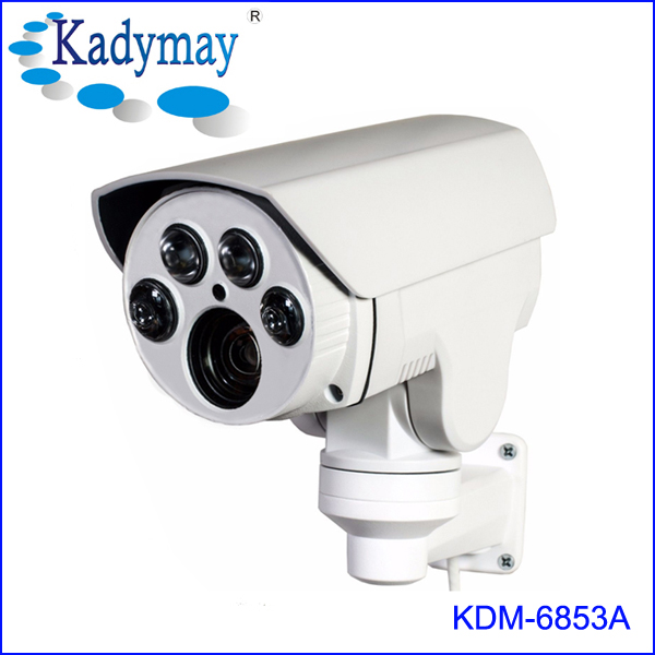 Automatically Control The Infrared Light 60M IR distance PTZ Bullet Camera