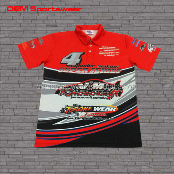 Cheap custom your own design racing team shirts wholesale for Make custom shirts cheap