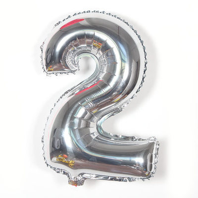 1pcs 16'' Helium Balloons Foil Balloon Silver/Gold/pink/blue Number Balloons Birthday New Year Party black animal Balloon