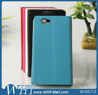 Wallet Card-slot PU Leather Cell Mobile Phone Case For Sony Xperia Z1 Mini Manufacturer