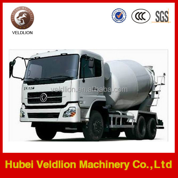 Famous brand 6m3 used concrete mixer truck china supplier