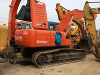 Japan made HITACHI EX200-2 Excavator in shanghai agent or trading company for machine