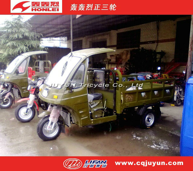 heavy loading Tricycle in 2016/Semi Cabin Cargo Tricycle made in China HL150ZH-AS05