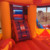 ZZPL Carousel Inflatable Bounce House with Slide, Circus Inflatable Jumping Castle for kids