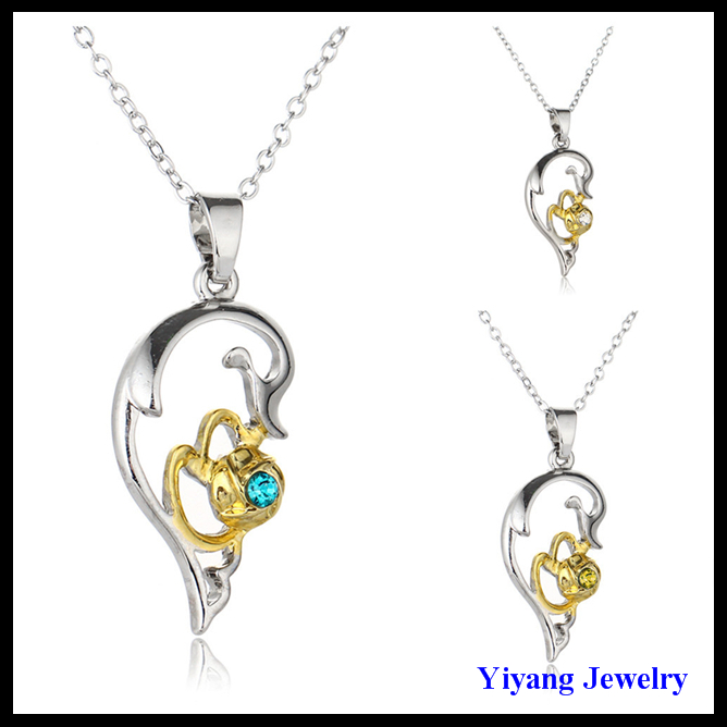 Yiyang Jewelry american diamond necklace sets