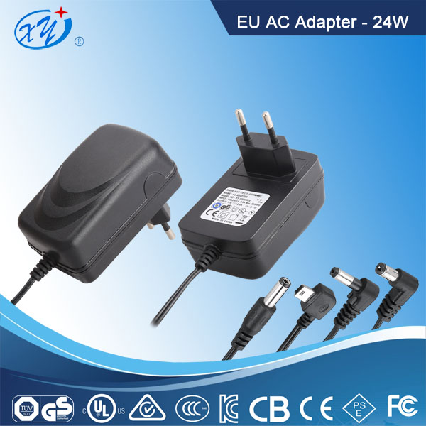 GS CE ROHS certified high quality cheap 12v 2a ac dc power adapter for cctv camera