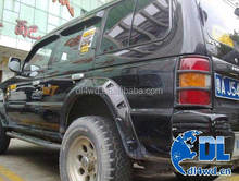 Auto body parts car fender flares Mitsubishi Pajero 4x4