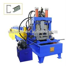 Hydraulic cutting Steel Profile Channel Shape Metal C Purlin Roll Forming Machine