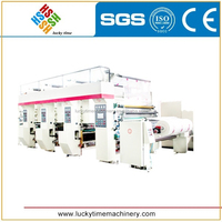 Automatic Double Color Compound Gravure Printing Press