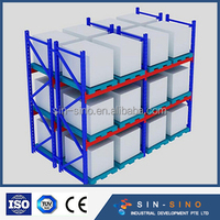 ISO Approved cold roll Pallet rack for Processing Industrial refrigerator storage