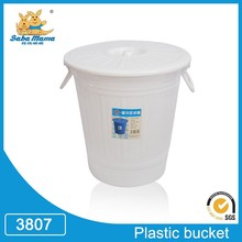 Hot sale 200L 56*58.5CM white blue PE large plastic bucket