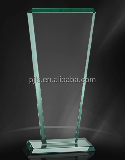 Cheap Corporate Glass Crystal Trophy Award Plaque