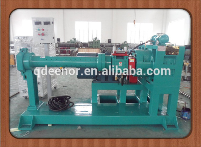 Extruded Silicone Machine / Rubber Extrusion Machinery/150 Hot Feed Rubber Extruder
