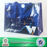 Lead-free Nylon Handles Custom Imprint Shopping Tote Bag