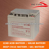 AGM sealed lead acid battery 12V 30Ah
