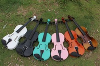 Cheap price spruce violin 1/4 with violin case for children