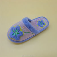 Jcpenney partner China manufactory plush fur cute lovely slipper baby shoe