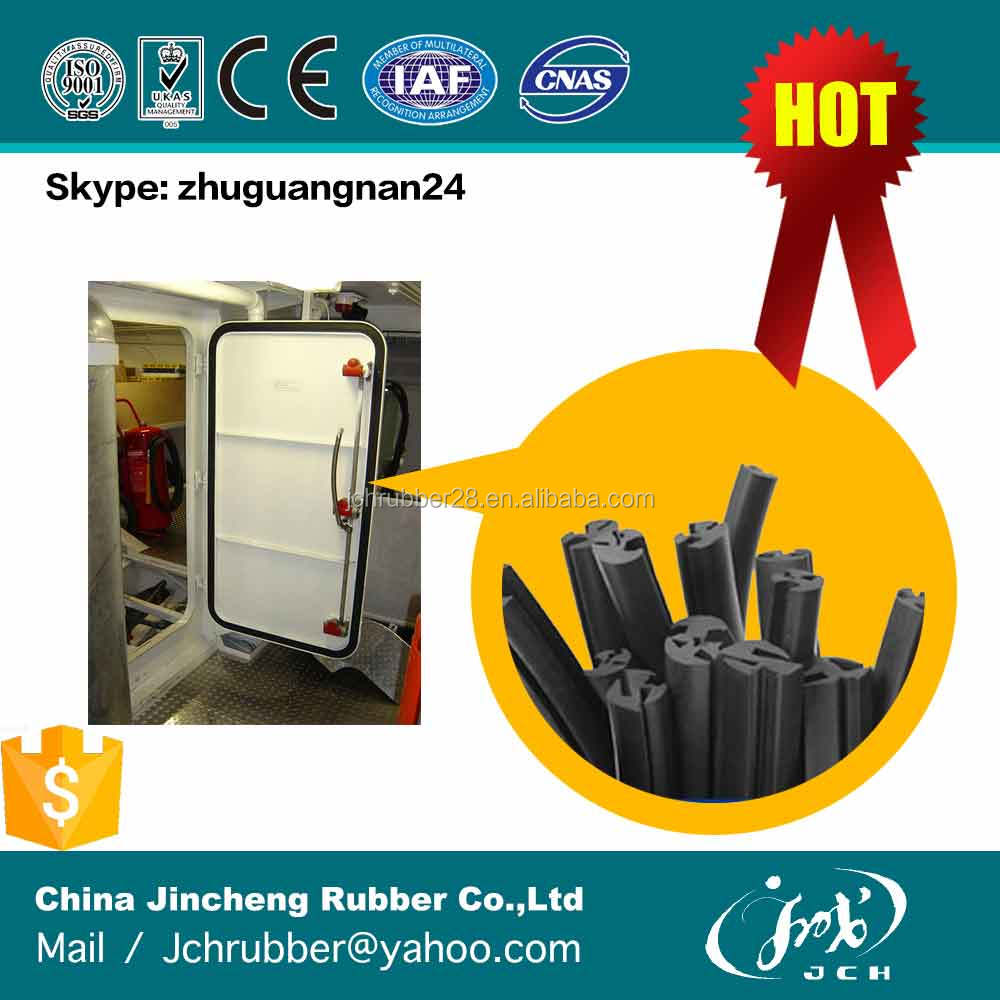 marine boat airtight rubber seal for watertight door