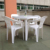 Hot sale outdoor stackable plastic chair for price