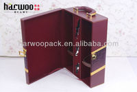 Latest Style PU Wine Bag Wine Carrier Box