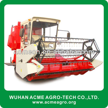 4LZ-2.0 75hp Rice and Wheat Combine Harvester(2m cutting width)