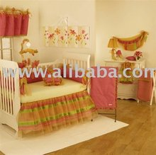 Bright Baby Girl Boutique Crib Bedding Nursery Decor Furniture