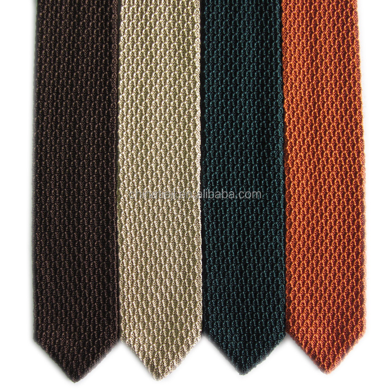 Factory New Design Mens Solid Plain Knitted Silk <strong>Tie</strong>