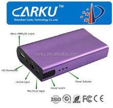 Quality external power bank for PC 6000mAh portable usb charger power bank