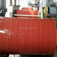 High Quality wooden pattern color coated aluminum coil for 1220mm*2440mm aluminum panels in Guyana