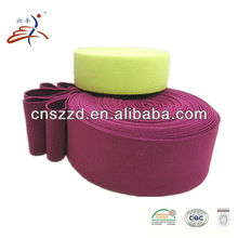 coloured knitted elastic band