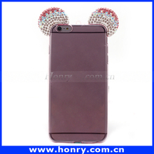 Diamond Bling case cover for iPhone 6s plus Cute Crystal jewel TPU Case Cover for iPhone 6s plus