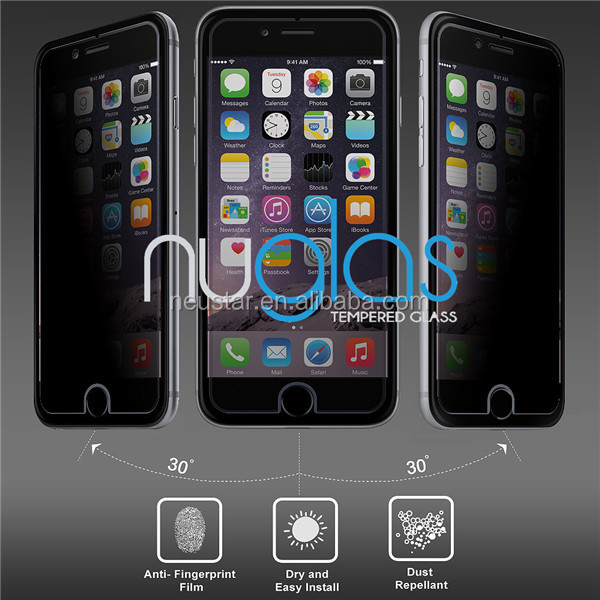 cell phone screen protector for iphone 6 /iphone 6 plus /screen protector with design packing