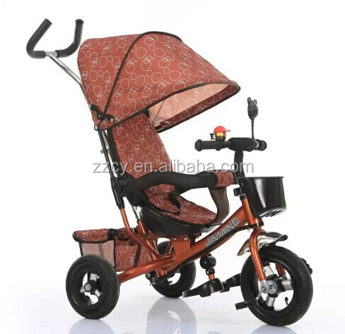 Ride On Toy Style and Car Type Radio Flyer 4 in 1 Trike Stroller Tricycle