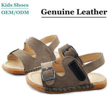 2014 new cute sport boy baby leather sandals