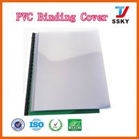 Standard with favorites compare high transparent clear a4 binding pvc cover diary