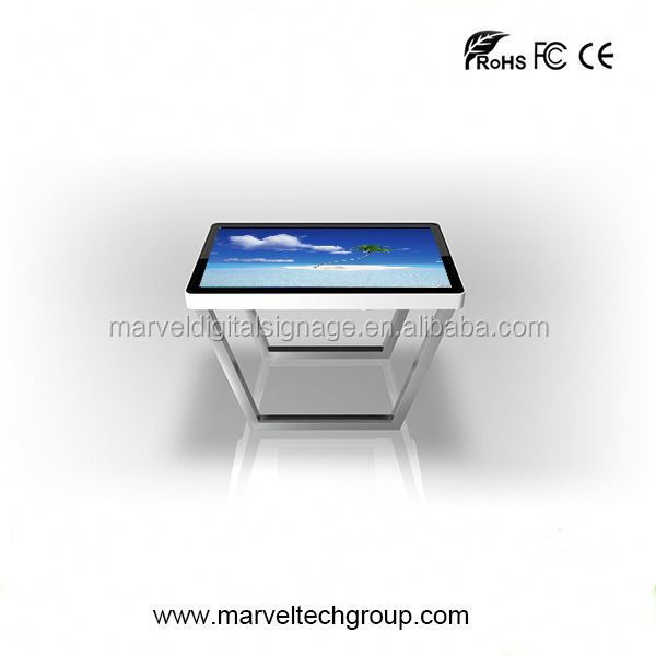 interactive mutil touch screen led glow coffee table