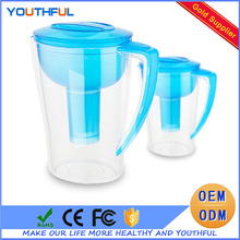Household Portable Activated Carbon Pure Alkaline Water Filter Pitcher