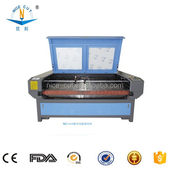 NC-F1810 China NICE-CUT cnc fabric laser cutting machine