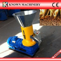 High quality with CE approved 100kg/h wood pellets fuel making machine
