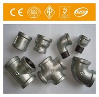 high quality A234 GR WPB Carbon Steel Butt Weld Equal Tee Black Malleable Cast Iron Pipe Fitting