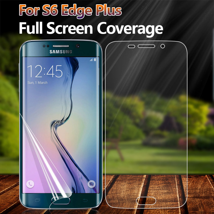 Ultra thin full cover screen protector for Samsung Galaxy S6 Edge Plus sreen guard