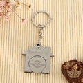 Hot Sale Compression Stainless Steel metal keychain