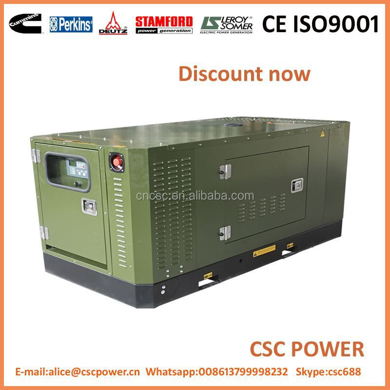 2016 Hot sale 10kw three phase generator set