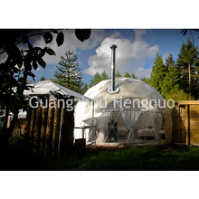 Hot Sale China Modular Luxe Steel Frame Oxygen Tent With Chimney For Holiday