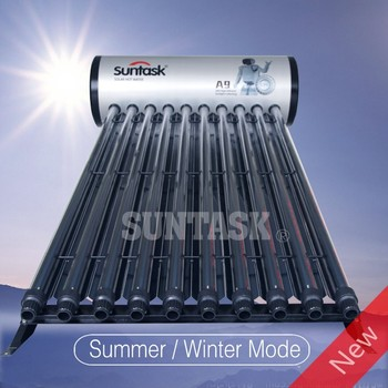SuntaskSolar A9H STH CPC Integrated High Pressure solar heater(A9H8 A9H12 A9H15 A9H20)
